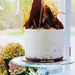 Chocolate Fudge Cake – Vanilla Icing