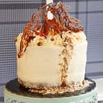 Coconut Pecan Vanilla Cake